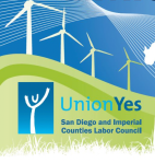 San Diego and Imperial Counties Labor Council Environmental Caucus Logo