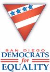 San Diego Democrats for Equality Logo