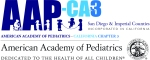 Logo for American Association of Pediatricians: San Diego and Imperial Counties